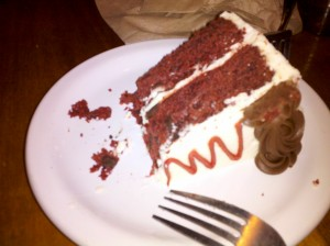Vegan Red Velvet Cake from Sweetpea Bakery