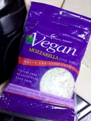 Galaxy Nutrtional Foods Vegan Mozarella Cheese Shreds