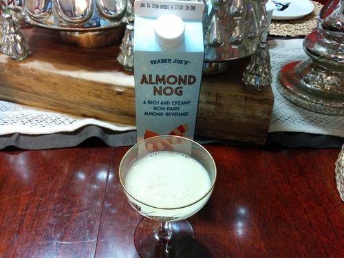 Trader Joe's Almond Nog - Nashveggie Vegan in Nashville
