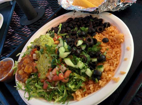 Baja Burrito Nashveggie Nashville Vegan and Vegetarian